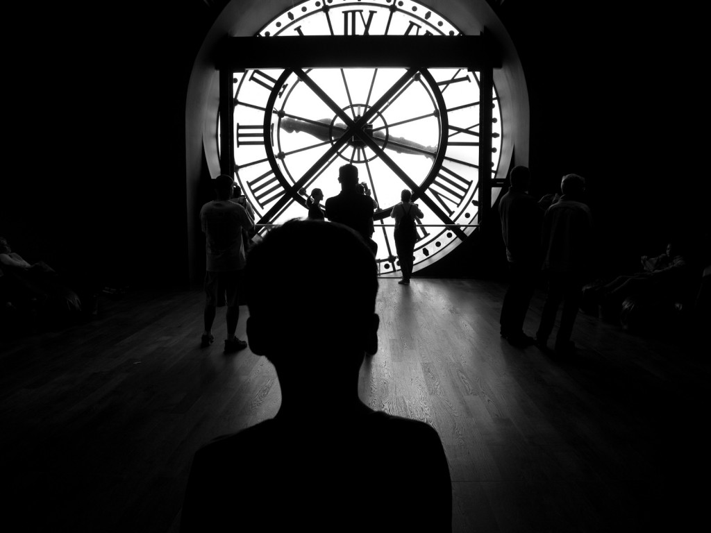 Behind the clock at Museé D'Orsay, Paris, France (Photo: Luis, click to enlarge).
